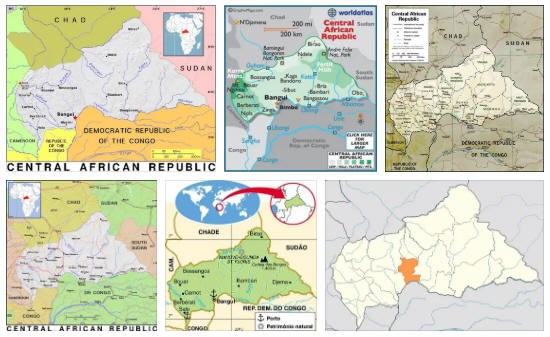 Central African Republic Geography