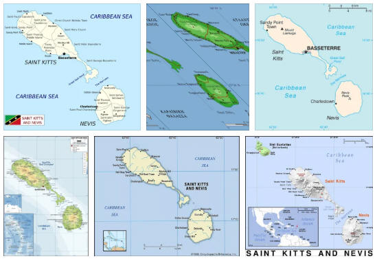 Saint Kitts and Nevis Geography