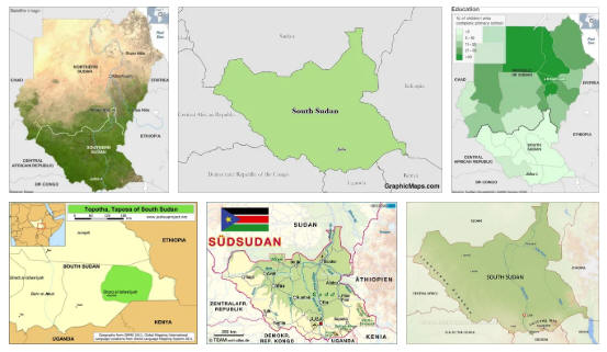 South Sudan Geography