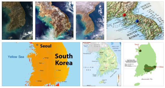 South Korea Geography