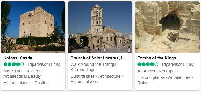Cyprus Top Sights