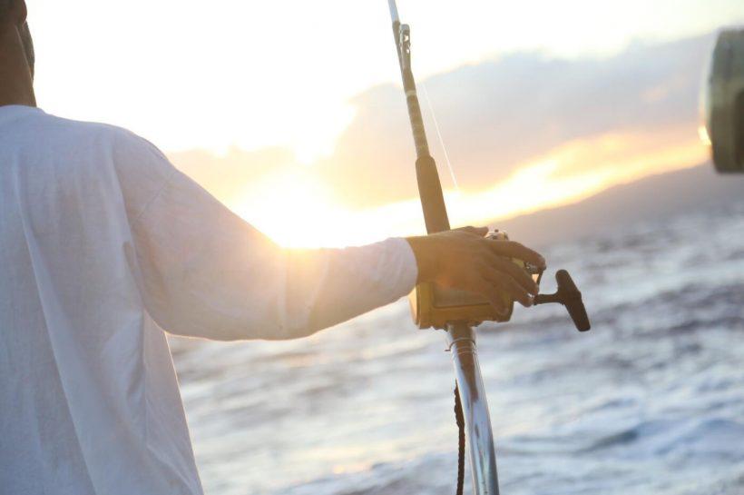 Deep sea fishing in the Canary Islands