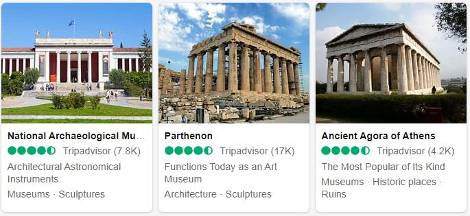 Greece Top Sights