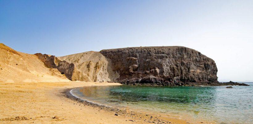 Wonderful beaches on Lanzarote