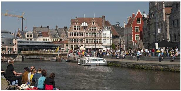 FLIGHTS, ACCOMMODATION AND MOVEMENT IN GHENT