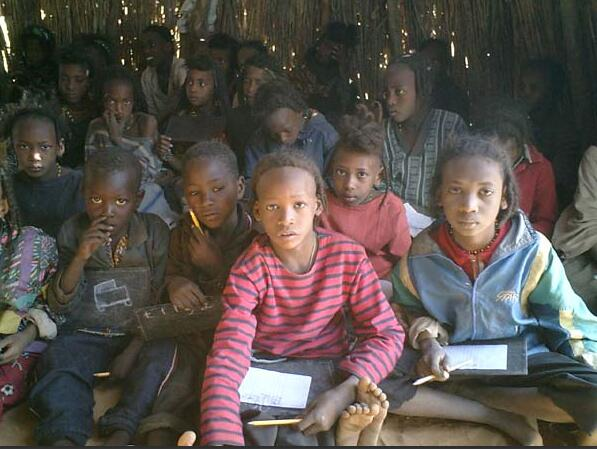 School in the pastoral zone Niger