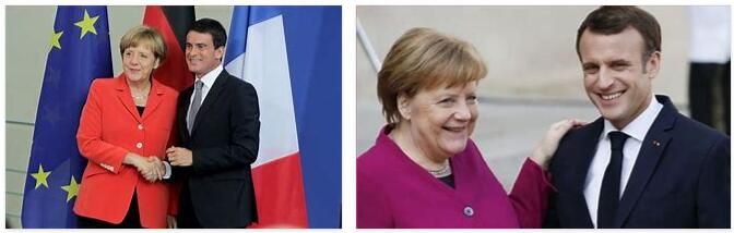 France and Germany as friends