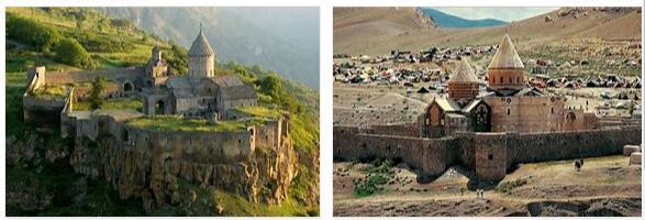 Armenian monasteries in Iran (world heritage)