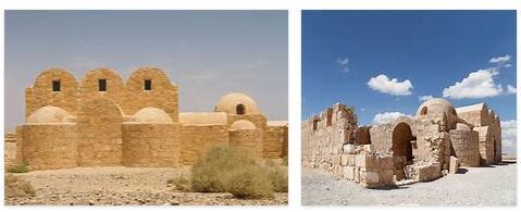 Desert Castle Kusair Amra (World Heritage)