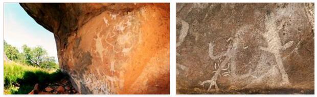 Rock paintings in Chongoni (World Heritage)