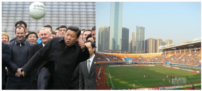President Xi Jinping has given Chinese football a kick